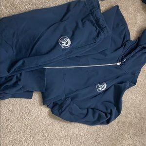 Diesel hoodie and jogger set